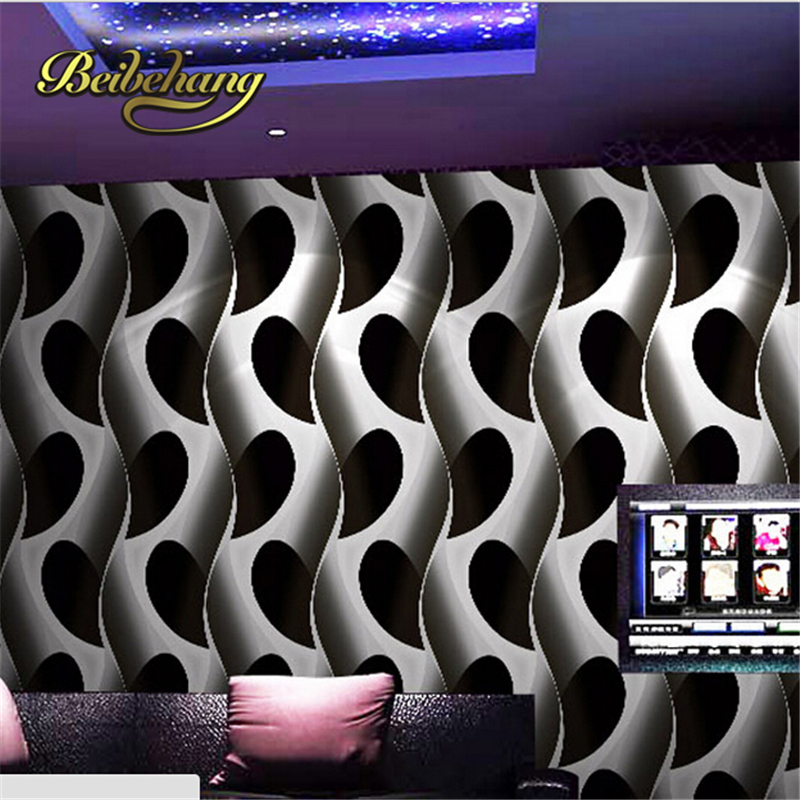 beibehang 3d three-dimensional KTV entertainment corridor wall paper background wallpaper the lobby bar boxes papel de parede <br>