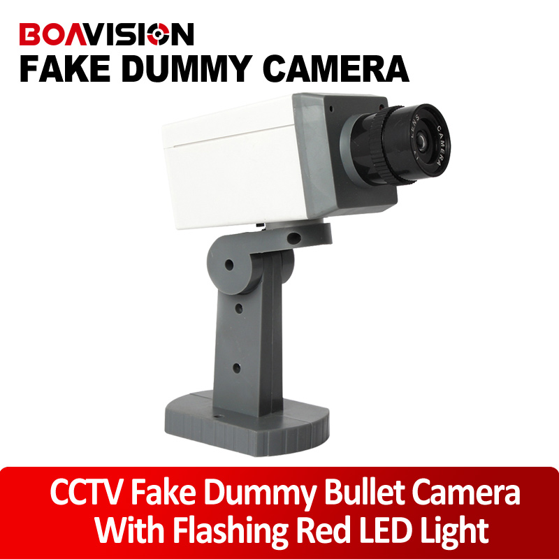 Dummy Camera Fake Outdoor Indoor Weatherproof Fake Surveillance Bullet Camera CCTV Security Camera Flashing Red LED Light<br><br>Aliexpress