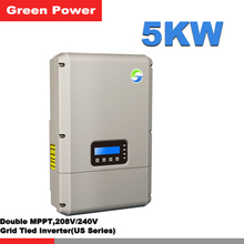 SolarRiver5000TL-US Solar inverter,Double MPPT 5KW 208V/240V 60HZ Split-phase inverter with DC switch WIFI forJamaica/Panama