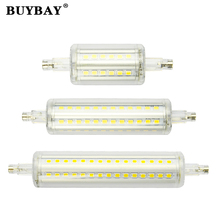 High bright Dimmable 78mm 118mm 135mm R7S LED Lamp spotlight 5W 10W 12W SMD 2835 R7S led Bulb 85-265V floodlight lampada(China)