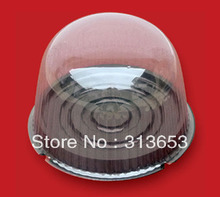 new arrival 6 inch cake box/cake dome/food packaging/Round cake container
