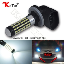 Buy 1pcs H1 H3 H27 880 881 Led Bulb Cars Lens LED Bulbs Car Driving Daytime Running Lights Xenon White 6000K 12V 24V H27W H27W/2 for $4.27 in AliExpress store