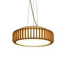 Nordic creative simple modern restaurant led chandelier solid wood lighting fixture kitchen table hanging lamp