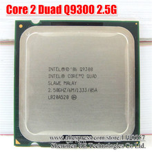 INTEL CORE 2 QUAD Q9300 Processor 2.5GHz 6MB Cache FSB 1333 Desktop LAG 775 CPU(China)