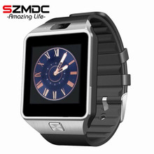 2016 Hot Smart Watch DZ09 Clock SIM/TF for Android Iphone Camera Bluetooth Wristwatch Smartwatch Phone PK GV18 GT08 GV09 M26 U8(China)