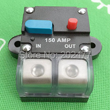 5pc/lot 150A 12V/24V Car Audio and Marine Fuse Holder Auto Circuit Breaker Manual Reset Switch,FH-38(China)