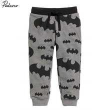 Hot Fashion Kids Baby Boys Sport Clothes  Casual Pants  Cool Boys Kids Cartoon Batman Trousers 2-7T(China (Mainland))