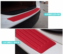 Car Rear Guard Bumper Rubber Stickers For audi tt mazda 6 nissan nv200 lexus smart fortwo renault clio 2 mazda 3 bmw accessories(China)