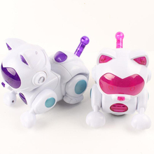 2016 New High Quality Electronic Dancing singing Light Robot Cat Birthday Christmas Gift For kids Toys Cat Model Action Figures