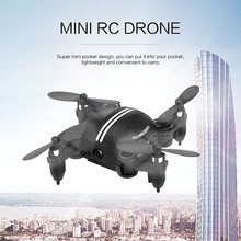 Foldable RC Pocket Quadcopter 2.4G 4CH 6-axis Gyro Headless Mode Drone Dron 3D Unlimited Flip RTF LED light Flying Helicopter
