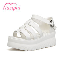 Nasipal 2017 sandals women Summer shoes woman Platform Heel Fashion Shoes Roman sandals Women sandalias mujer Casual Shoes C056