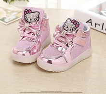 Hello Kitty Shoes For Girls Sneakers Infant Girl Shoes Newborn Baby Girl Sneakers Sequined Toddler Girl Shoes Princess Sneakers