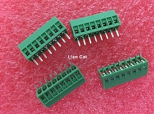 10pcs 8 Poles/8 Pin 2.54mm  Pitch PCB Mount Screw Terminal Block Connector - Fits PCBs!