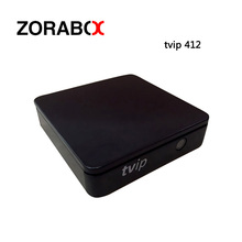 Mini Set Top Box Of TVIP Box TVIP412 Linux Or Android 4.4 Double System Support H.265 1920x1080 Quad Core Decoder TVIP 410 Plus(China)