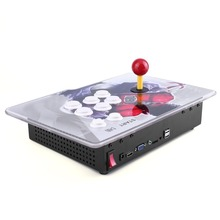 AU/EU/US/UK Plug 846 Games in One Family Box with Single Joystick Game Console Home Game Machine with Black Dragon Pattern(China)