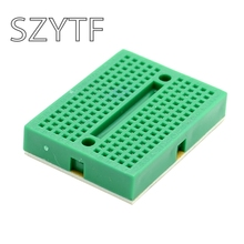 SYB-170 Green bread board / test board / color small breadboard / 35*47mm imported materials (10pcs/lot)