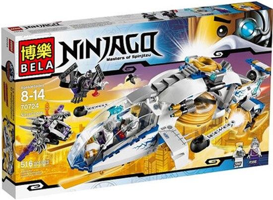 Bale 10223  Phantom NinjaNinja Copter building blocks action   set bricks baby boy kid toys<br><br>Aliexpress
