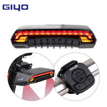 GIYO Bicycle LED Light Bike Seatpost Tail Light Wireless MTB Safety Warning Bicycle Rear Light Intelligent Remote Control Light(China)