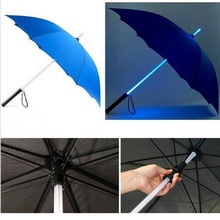 10pcs/lot Cool Blade Runner Light Saber LED Flash Light Umbrella rose umbrella bottle umbrella Flashlight Night Walkers(China)
