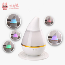 Air Purifier 2017 New Design Portable 200ml Aroma Essential Oil Diffuser Air Humidifier Mini Aromatherapy Humidifier Cleaner(China)