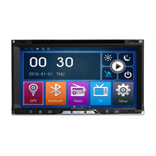 2Din Touch Screen Car Radio CD Doble Din Universal Auto Video Audio Player With GPS Navi Bluetooth Wince 6.0 OS USB