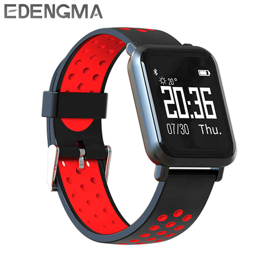 Smart bracelet SN60 HD 0.96 inches Heart rate blood pressure monitor Multi-motion mode IP68 waterproof swimming Bluetooth watch