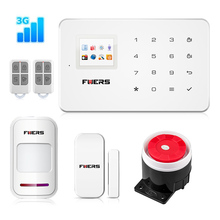 Fuers ios android 3G GSM home alarm system with touch screen TFT color display Easy Operation