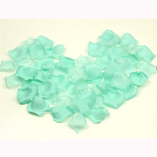 2000Pcs Casamento Tiffany Blue Atificial Wedding Rose Petal Rustic For Wedding Party Decoration Centerpieces Supplies