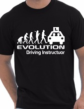 Evolution Of A Driving Instructor Job Work Funny Gift Unisex T-Shirt More Size and Colors-A656(China)