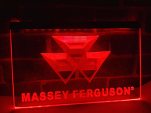 LG187- Massey Ferguson Tractor LED Neon Light Sign home decor crafts(China)