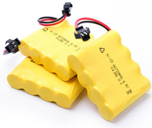 3pcs/lot 4.8 V 700mAh Remote Control Toys Electric toy security facilities electric toy NI-CD AA battery battery group(China)