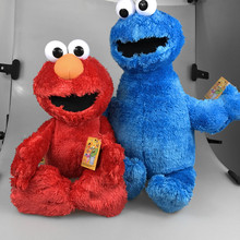 50CM Original New Cartoon Sesame Street Elmo Plush Toys Soft Stuffed Dolls Children Girls Gifts Free Shipping