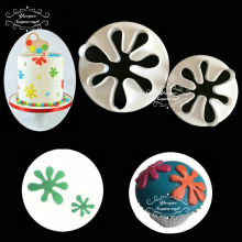 Yueyue Sugarcraft flower plastic fondant cutter cake mold fondant mold  fondant cake decorating tools sugarcraft