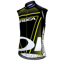 Pro Team Orbea Men's sleeveless cycling jersey mountain bike shirts Cycle Clothing ropa ciclismo hombre Bicycle Clothes G13(China)
