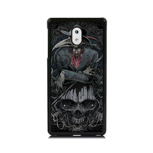 Cool Case for Nokia 3 Animal Crow Skull Head Printed Hard Plastic Skin Mobile Phone Cases For Nokia 5 6 Back Cover Shell