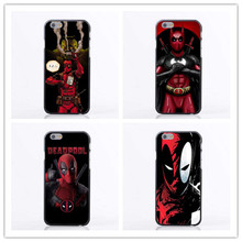 About Deadpool latest fashion phone shell cover black  For iPhone 5 5s SE 6 6plus 7 7plus mobile phone sets