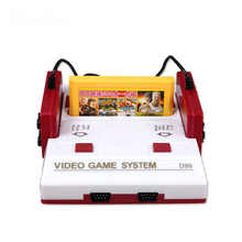 Hot sale classical family PAL format tv video game console 8bit 80 yesrs game handheld with 400 different game free shipping(China)