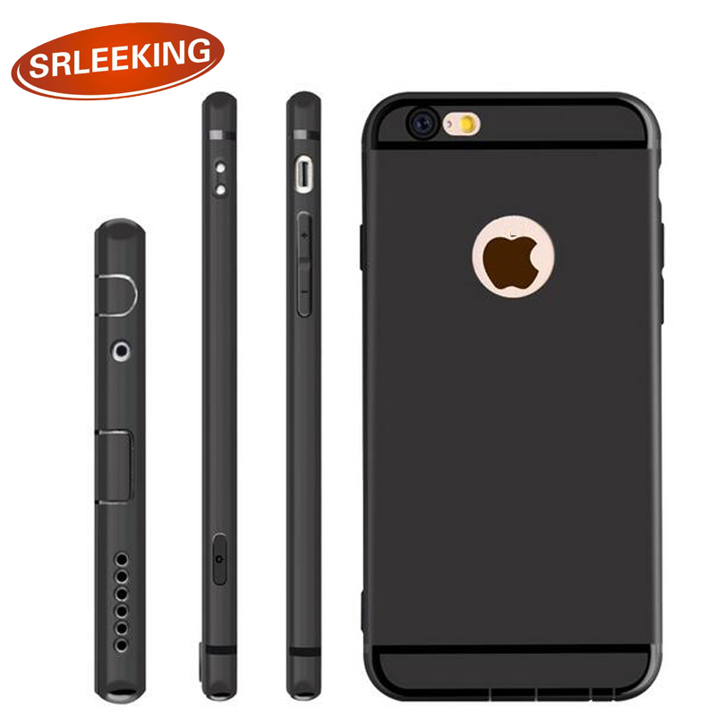 SRLEEKING for iPhone 5s Case Silicone TPU Case Back Cover Shell cases For iPhone 5/5s 360 Full Protection Phone case(China (Mainland))