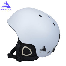 VECTOR New Ski Helmet Men Women Children Snowboard Helmet PC+EPS Ultralight High Quality Snow Skating Skateboard Skiing Helmet(China)