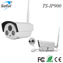 1.3MP Wireless wifi IP Camera long IR distance outdoor metal P2P Home CCTV Security camera BOX camera LED night vision(China)