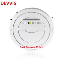 Mini Robotic Vacuum Cleaner for Home Wireless Dry Cleaning Appliances with Remote Control,Auto Recharge,Ultrasonic Sensor(China)
