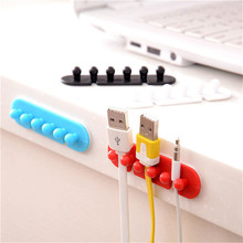 2X Wire Cord Clip Cable Line Holder Tie Fixer Organizer Drop Adhesive Clamp dec21 Extraordinary