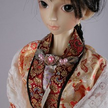 [wamami] 699# OOAK Chinese Classical Craft Necklace 1/4 MSD DOD BJD Doll---Not For Adult(China)