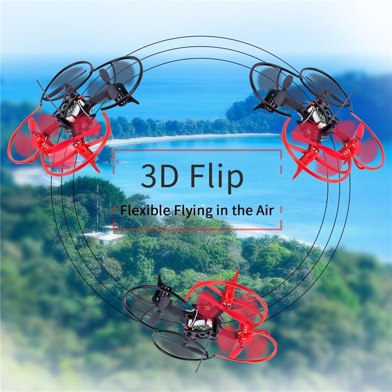SunFounder 6DX Racing Mini Drone Nano Quadcopter 3D Flip 6 Axis Gyro 2.4G 4CH Radio Transmitter Drone Quadcopter