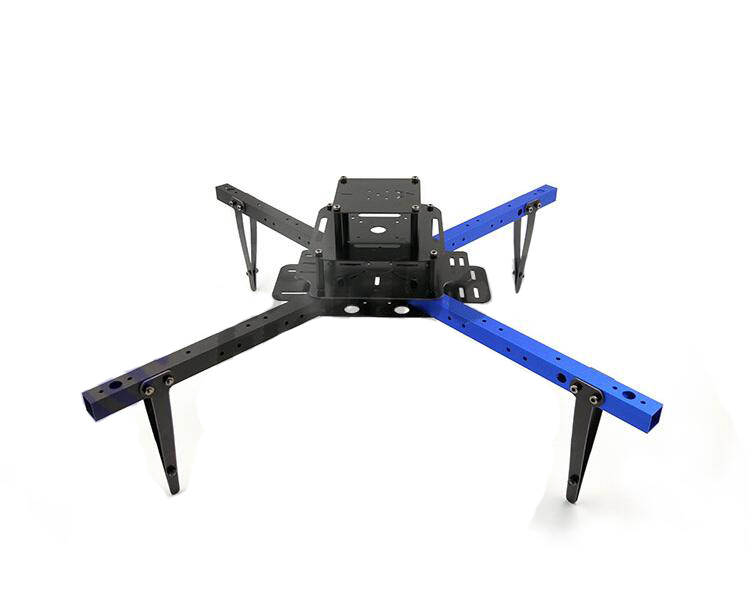 Free Shipping 450mm 4-Axis Quadcopter Frame FPV kvadrokopter RC Drone frame DIY Aluminum tube frame<br>