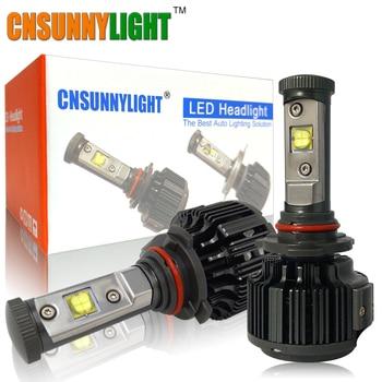 CNSUNNYLIGHT 7200LM 9006 HB4 Coche Brillante Estupendo Llevó La Conversión de Faros Kit Auto de la Niebla DRL Lámpara de Luz de Xenón 3000 K 4300 K 6000 K bombillas