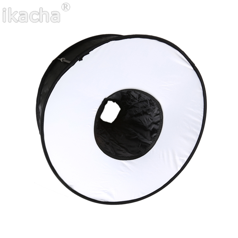 45cm Ring Softbox Speedlight Round Style Flash Light Shoot Soft box Foldable Soft (3)