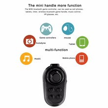 R1 Wireless Bluetooth Remote Game Handle Gamepad VR Remote Game Controller Joystick Support Control Modes Music Game Self Timer(China)