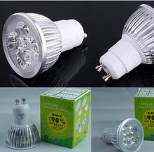 Hot Selling 12W GU5.3 /MR16 220V 4*3w Dimmable/Non Dimmable LED Lights Lamp Bulb Spotlight Cool /Warm White Free Shipping(China)