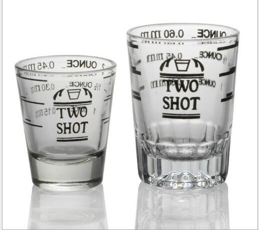 multi purpose liquid and dry measuring shot glass heavy glassincremental measurements for teaspoonstablespoons ounces in shot glass from home garden on - How Many Ounces In A Shot Glass